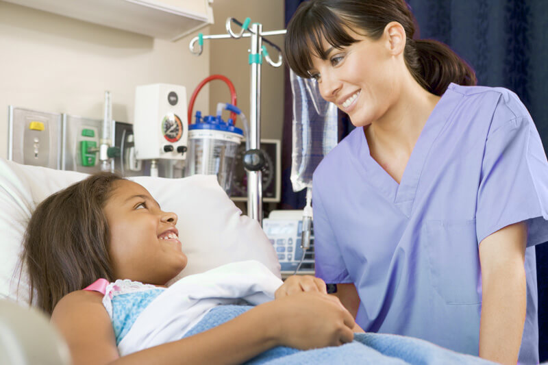 Pediatric Patient & Nurse