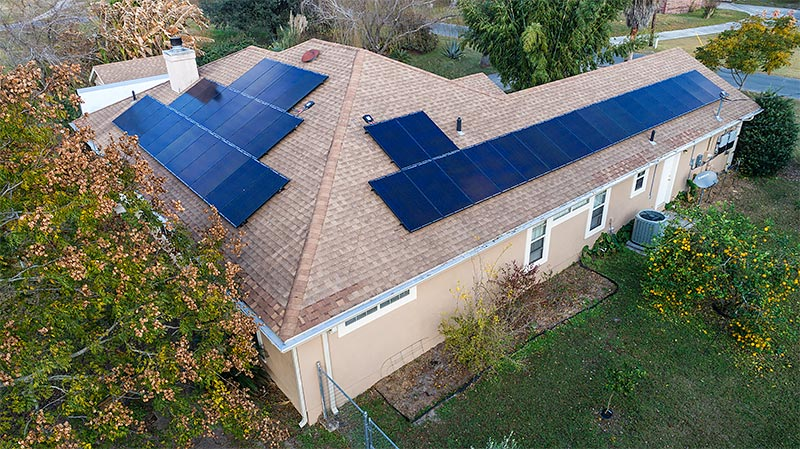 florida-home-solar-pannels-aerial-view