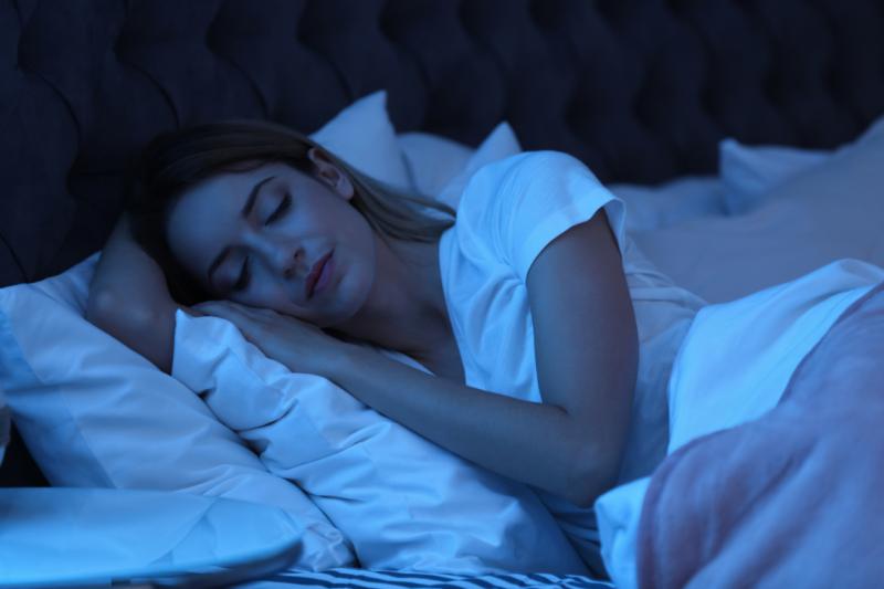 Teen sleep better at night