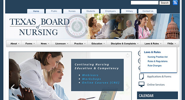 Texas Board of Nursing
